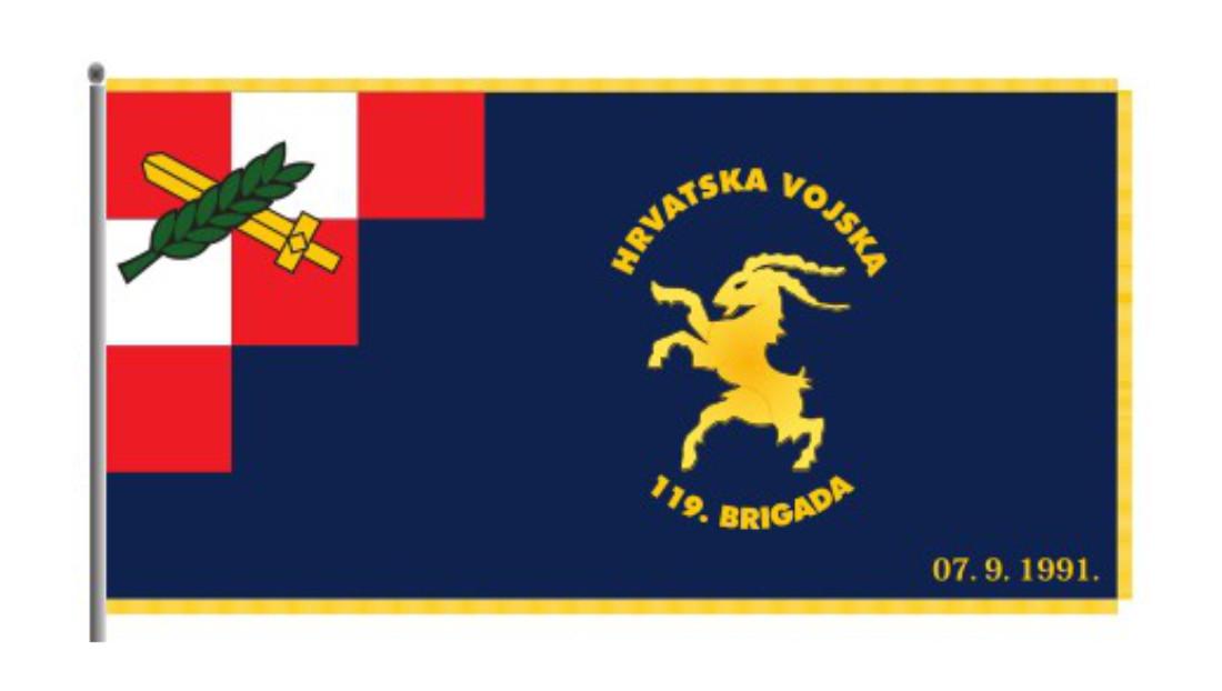 Ratna zastava 119. brigade